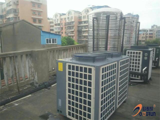 常州二院宿舍商用空气能热水工程