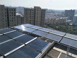 滁州大成国际公寓太阳能空气能热水系统