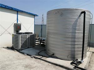 南京中建一局秣陵工地空气能热水工程