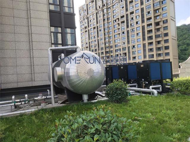 杭州耀圣都汇银座热水工程