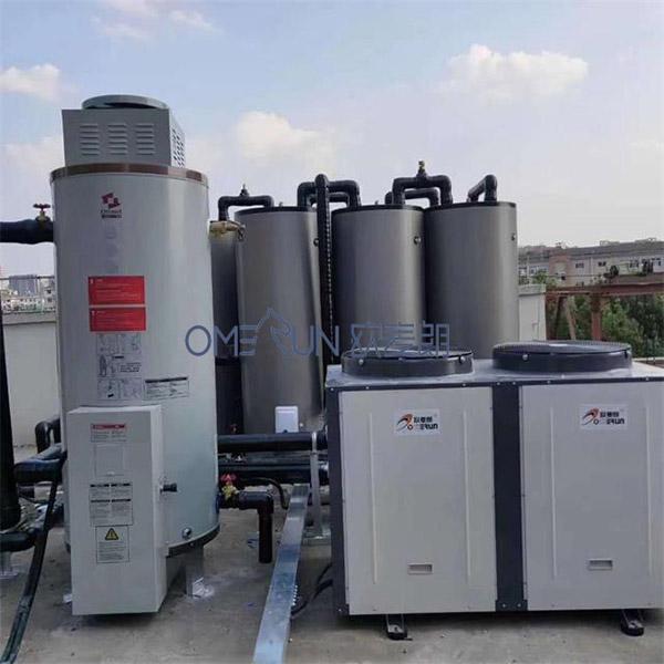 杭州临安幼儿园模块承压空气能热水系统