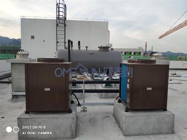 台州龙湖学校承压空气能热水工程