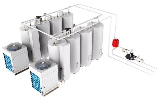 CAHP-PI-42直热式承压热泵