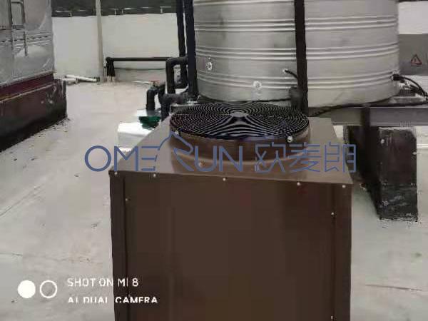 浙江研一新能源员工宿舍用空气能