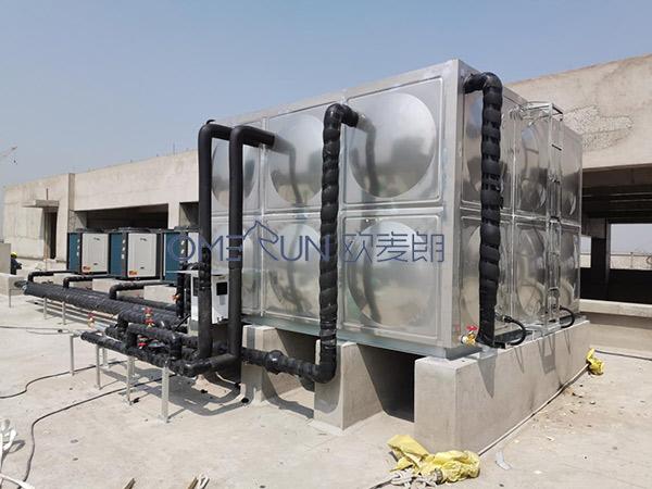 产业园项目员工宿舍和食堂热水系统
