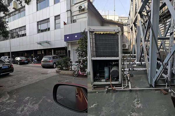 上海镍都饭店热水系统改造