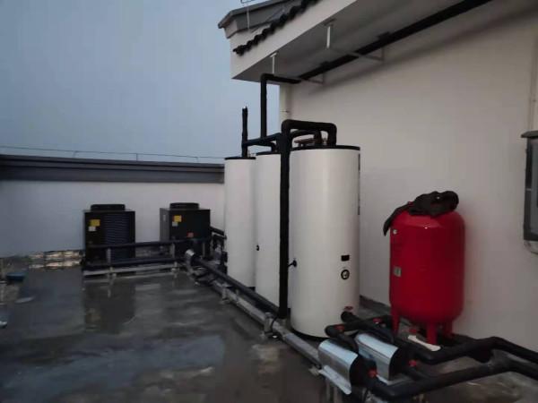 浙江嵊州崇仁村建筑群消防员用热水工程