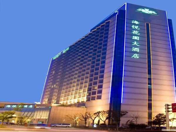 苏州海悦花园酒店空气能热水工程