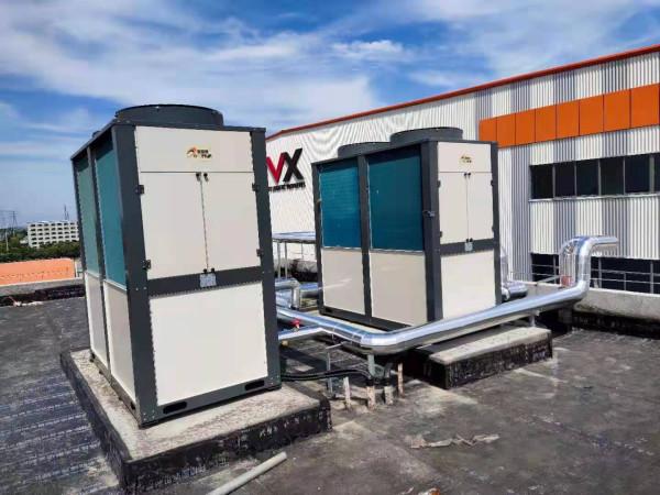 万纬仓储园空气能热水系统