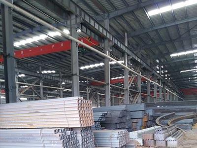 光兴钢材存储厂库环境