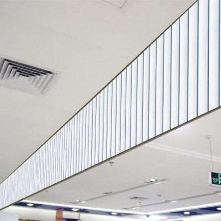 翻板式挡烟垂壁