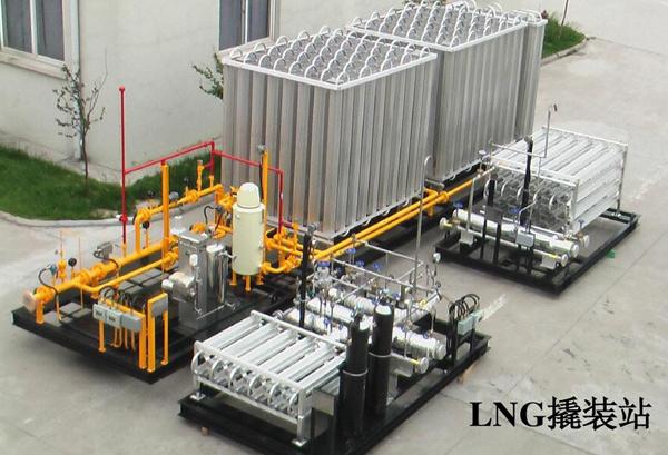 山东撬装式LNG加气站
