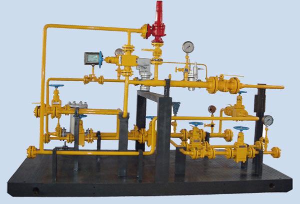 山东LNG调压计量撬