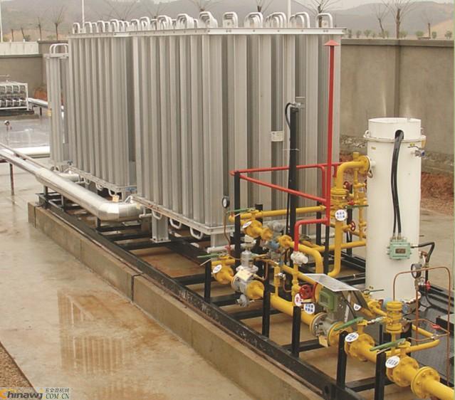 【多图】撬装式LNG加气站 空温式汽化器的结构特点