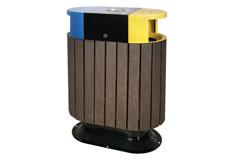 鋼木垃圾桶價格