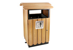 钢木果皮箱定制价格