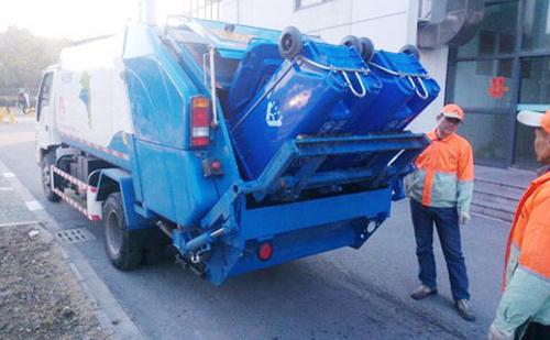 垃圾清运车组装