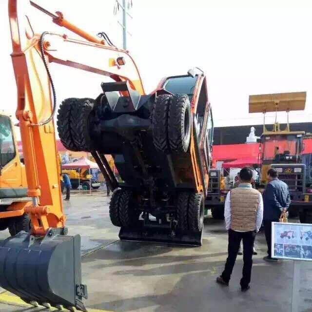 轮胎式挖机培训