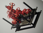 井口装置液动平板闸阀产品设计 手动暗杆式平板阀标质