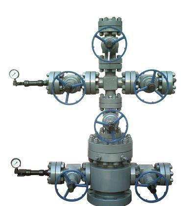 【厂家】井口装置厂家 油管头四通 说明
