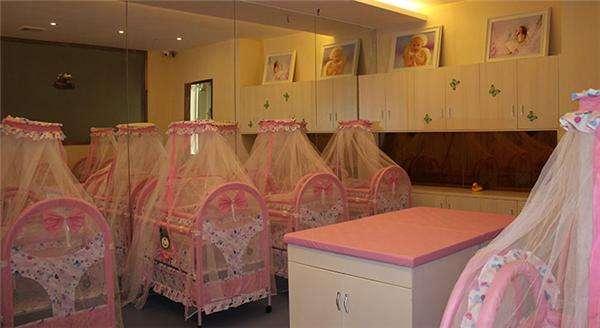 重庆月子中心婴儿休息室