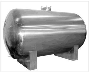 不锈钢卧式压力容器