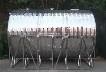 不锈钢圆形卧式水箱