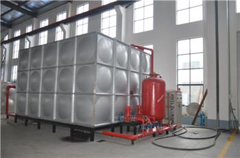 泵箱一体化消防水箱