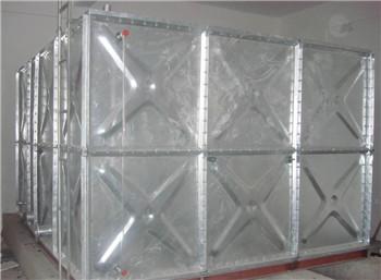 螺装镀锌板水箱