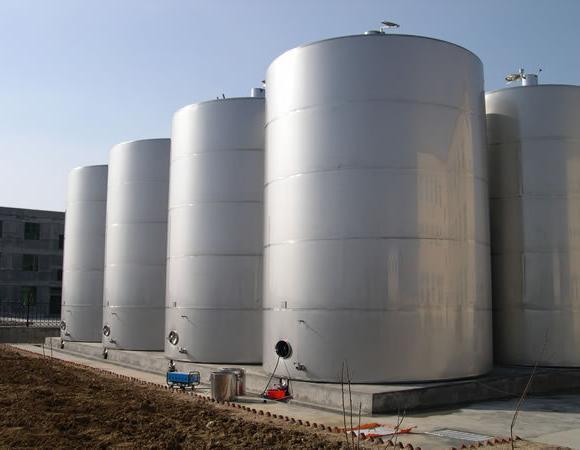 大型不锈钢化工储罐