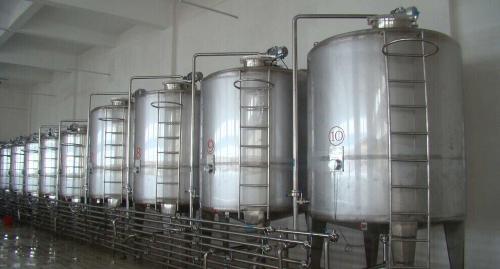 大型立式不锈钢油罐