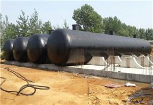 大型地埋式储油罐