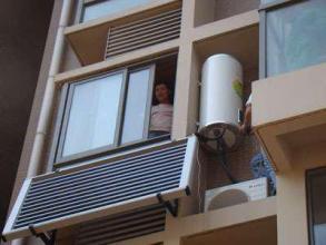 汉阳阳台壁挂式太阳能热水器安装