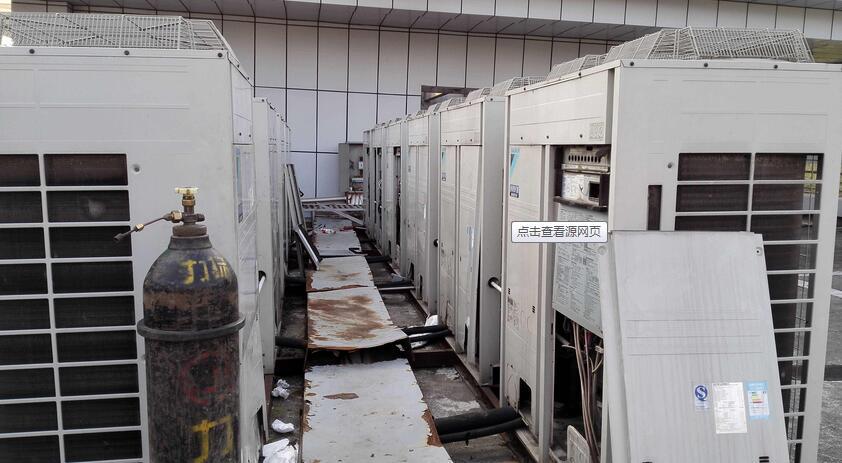 武汉中央空调机组清洗