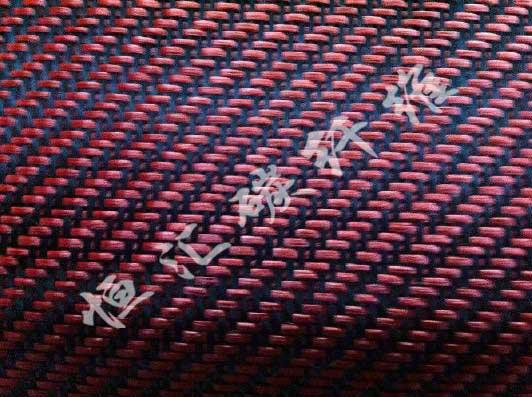 3K碳纤+红色芳纶