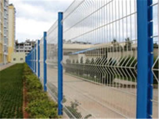 成都三角折弯型围栏