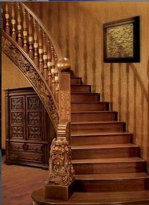 遵义室内木楼梯