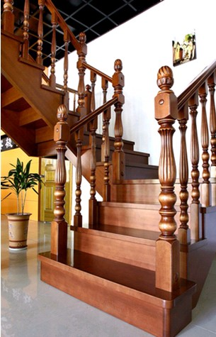 贵州木楼梯安装