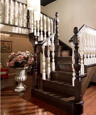 实木楼梯安装