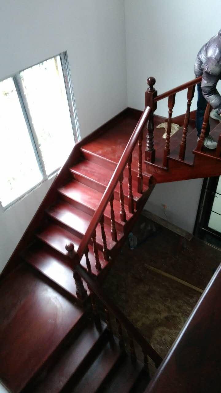贵州木楼梯整体定制