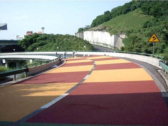 河南喷涂彩色沥青