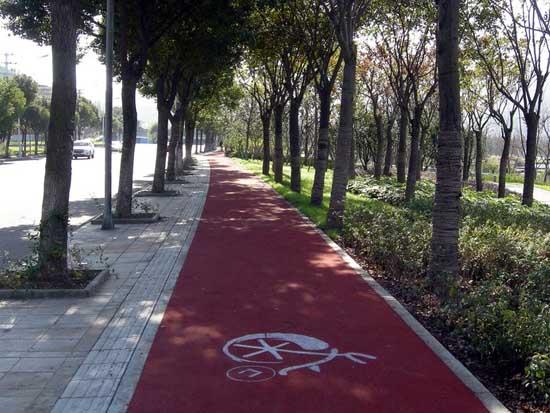 彩色道路沥青