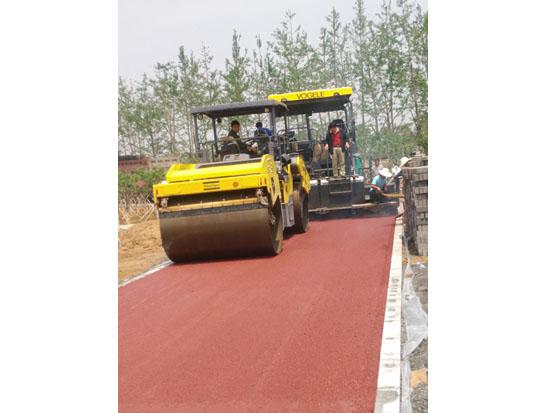 郑州彩色沥青路面