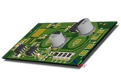 触摸LED台灯控制电路板