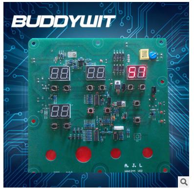 LED灯电路控制板开发设计