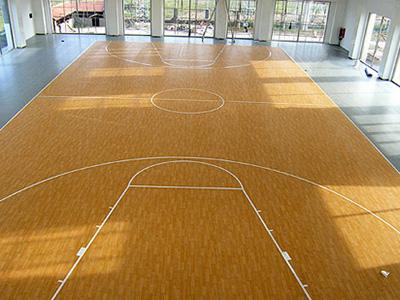 室內籃球場地板