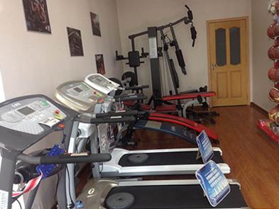 健身房室内器材公司