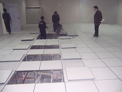 防静电地板铺设