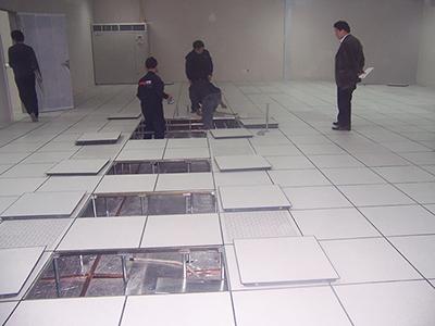 防靜電地板鋪設