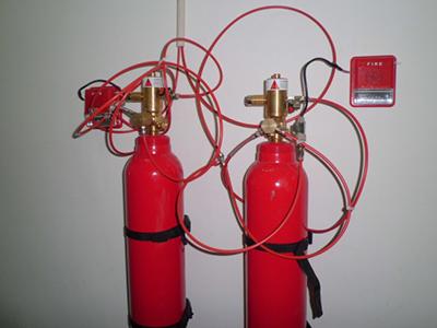 探火管灭火系统
